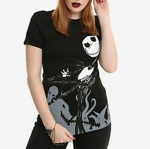 Nightmare before Christmas Jack & Sally T